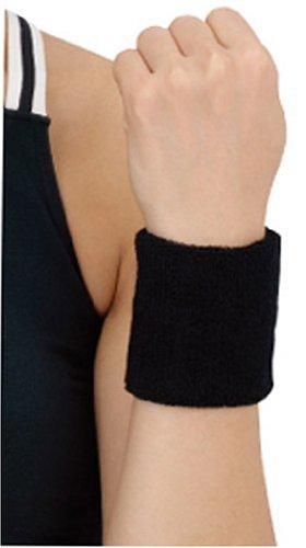 D&M(ディーアンドエム) リストバンド [ WristBand ] 手首用 ブラック #240BK ブラック フリー