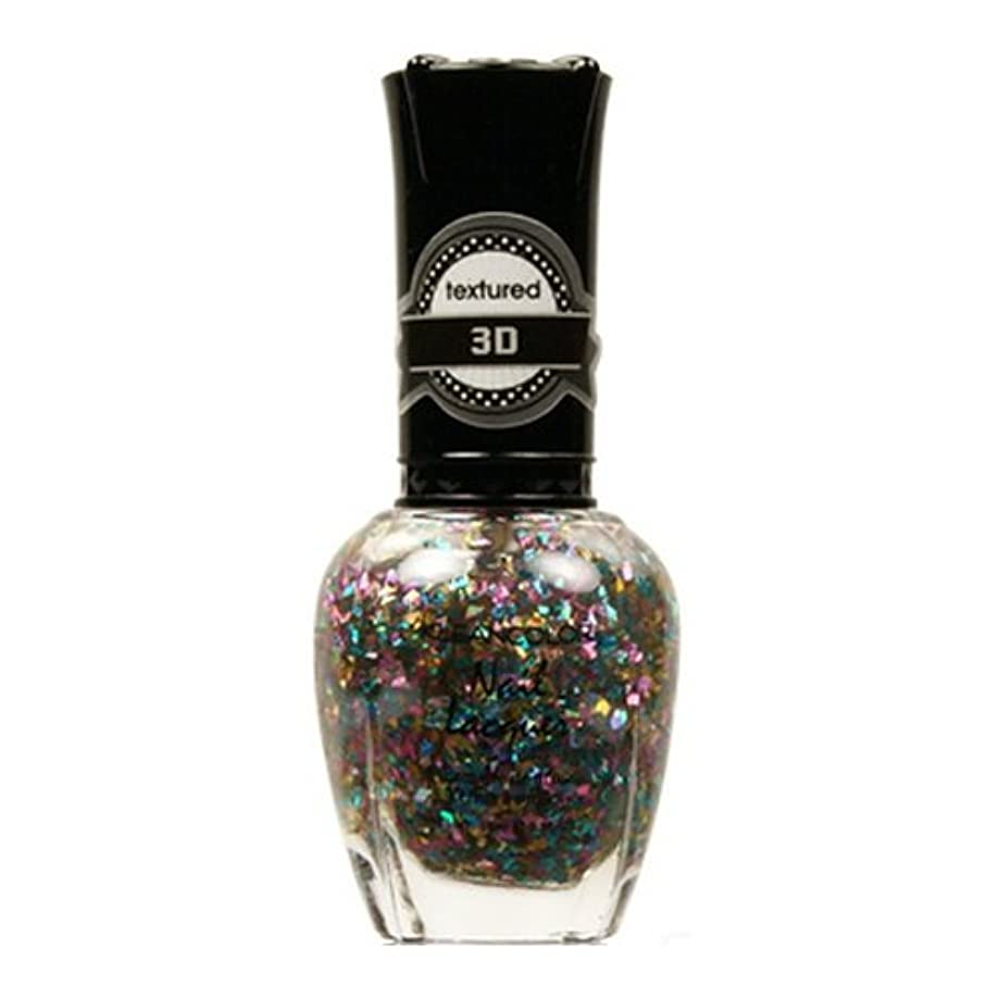(3 Pack) KLEANCOLOR 3D Nail Lacquer - Love Madness (並行輸入品)