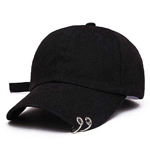 [해외]모자 BTS 방탄 소년단 JIMIN (지민) 테테 힙합 Hip Hop 스타일 모자 캡 남녀 겸용 모자 야구 모자 (블랙) [병행 수입품]/Hats BTS Bulletproof Boys` Group JIMIN (Jimin) Tete Hip Hop Hip Hop Wind Hat Cap Unisex Dual Cap Baseball Cap (Black) ...