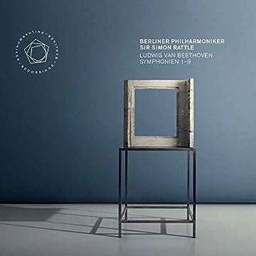 ルートヴィヒ・ヴァン・ベートーヴェン : 交響曲全集 (Ludwig Van Beethoven : Symphonien 1–9 / Berliner Philharmoniker & Sir Simon Rattle) [5SACD Hybrid] [Live Recording] [輸入盤] [日本語帯・解説付]