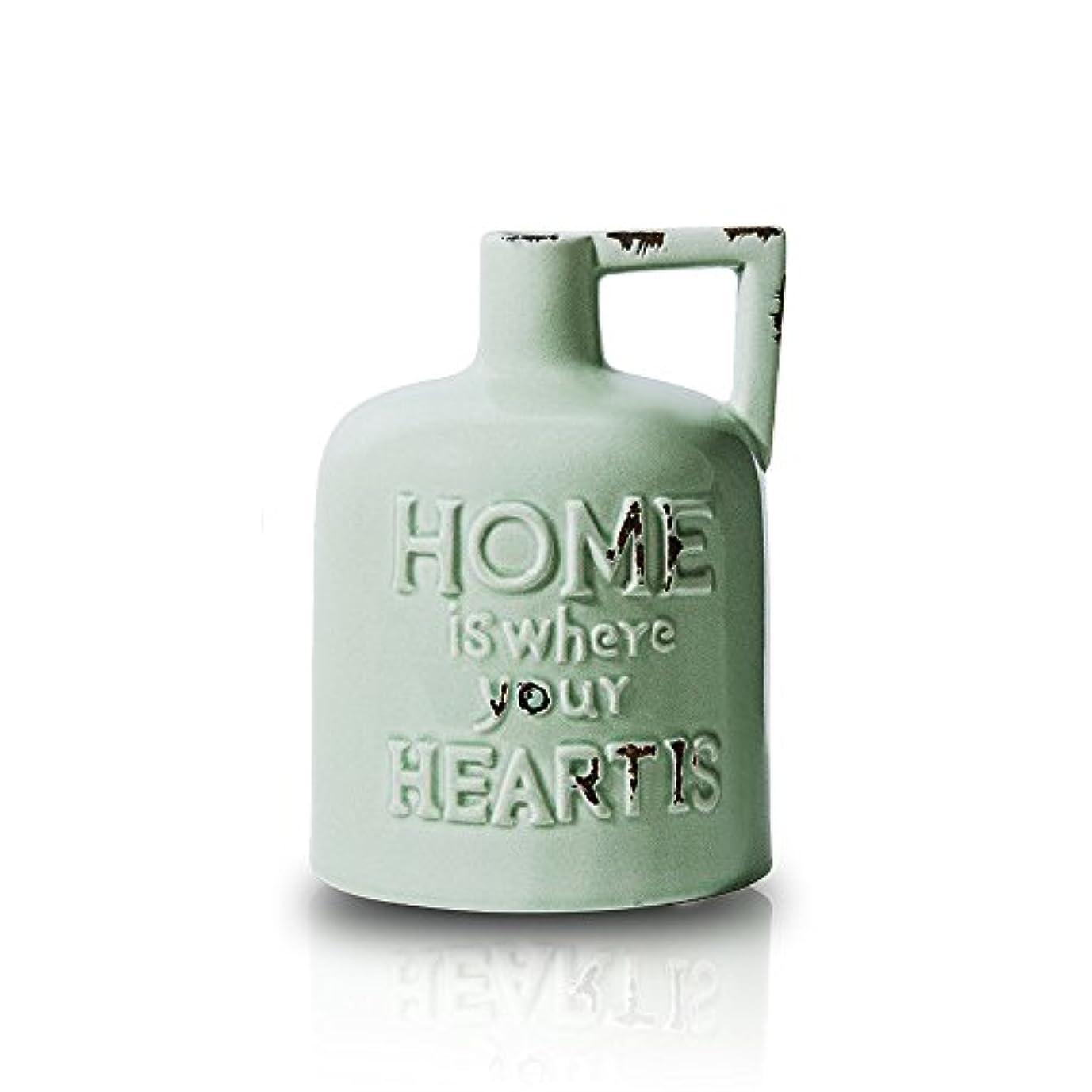 アイデアバイソンジョグOnlili(オンリリ) VINTAGE Collection 陶器 アロマディフューザー ONL-AD001V (GR(グリーン))