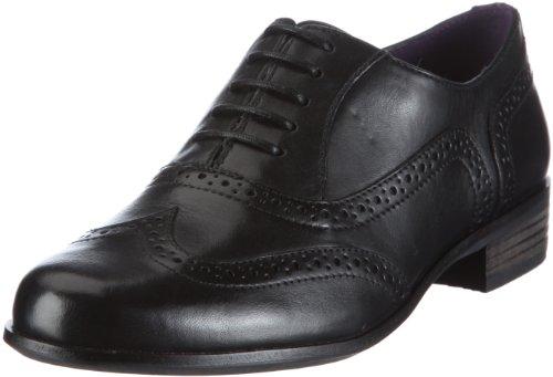 [クラークス] Clarks レースアップシューズ Hamble Oak 20346713 Black Leather (ブラックレザー/UK 4.5)