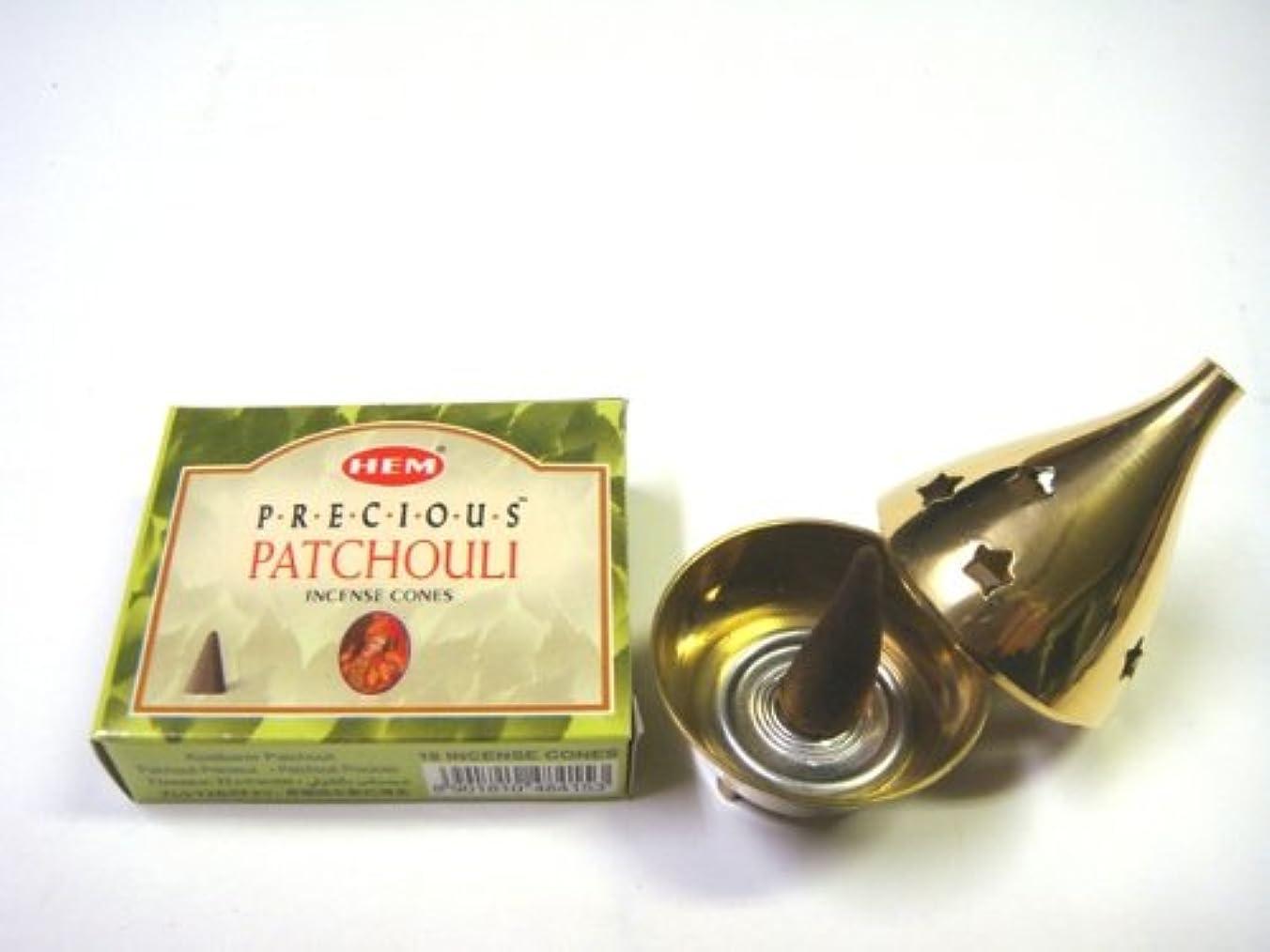 イースター兵器庫粘性のHEM お香 パチョリ コーンタイプ1箱 お香コーン