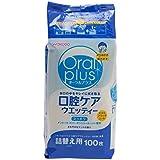 【お徳用 5 セット】 オーラルプラス 口腔ケアウエッティー さわやかなミントの香り 詰替え用 100枚×5セット