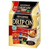 KEY COFFEE(キーコーヒー) ドリップ オン バラエティパック (8g×12袋)×6袋入
