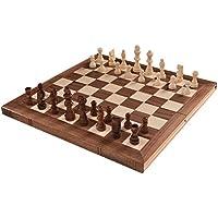 Tangkula Folding Wooden Chess Set 15