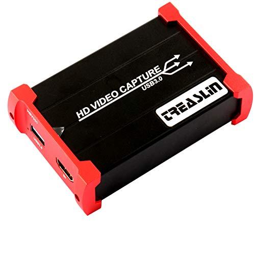 TreasLin USB3.0 HDMI ビデオキャプチャー...