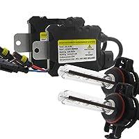 DingXW 車のためのH4-H/L 9004/7-H/L H13-H/L 880/881 / H27 5202 / H16 55W HIDキセノンヘッドライト変換キット電球 (Style : 5202/H16, Wattage : 5000K)