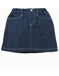 コムサイズムキッズ(COMME CA ISM) 異素材切り替え スカート
