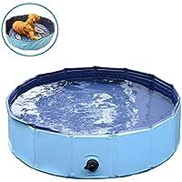 Ecoolda子供用プール、ペット高級入浴用品、ペット風呂場 泳ぎプール夏ベストセラー、折り畳め式、丈夫、長持ち、収納便利、小型、中型、大型犬、猫、子供にも適用 (30 * 120cm)