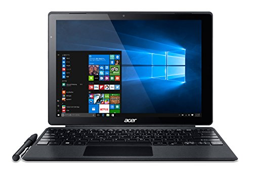 Acer 2in1 ノートパソコン Switch Alpha 12 SA5-271-F34Q Windows 10/12インチ/4GB/128GB