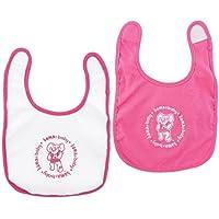 Baby Fanatic Bibs Pink, University of Alabama by Baby Fanatic [並行輸入品]