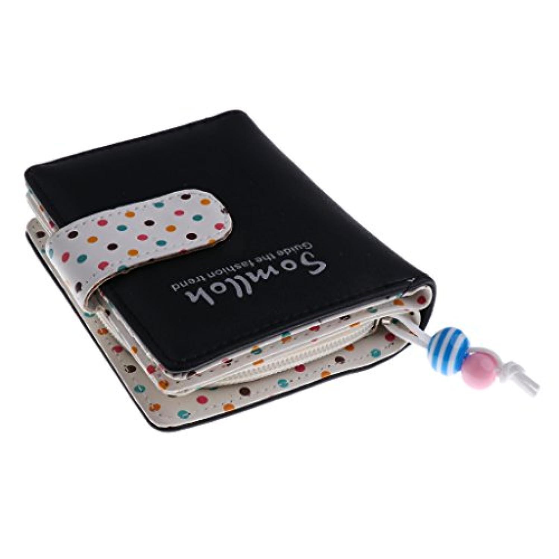 GRALARA PUレザー レディース 女の子 ドット  財布 ハンドバッグ 財布 クラッチ コイン カード ホルダー 全6色