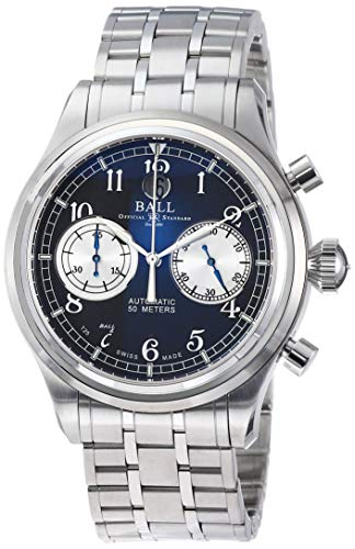 [ボールウォッチ]BALLWATCH 腕時計 トレインマスターキャノンボール グレー文字盤 自動巻き CM1052D-S2J-GY メンズ 【並行輸入品】
