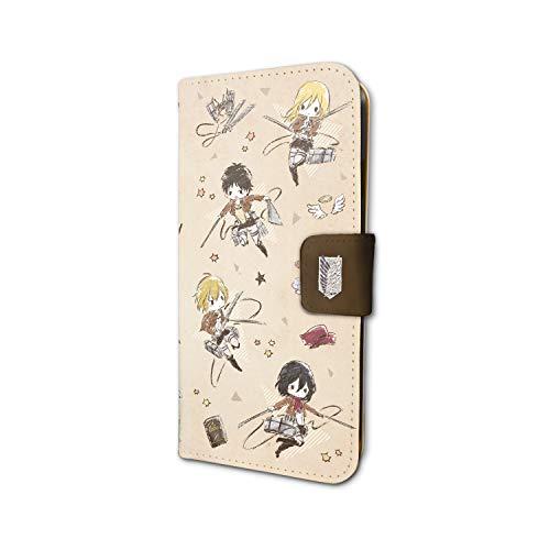 進撃の巨人 Season 3 01 調査兵団(グラフアート) 手帳型スマホケース(iPhone6/6s/7/8兼用)