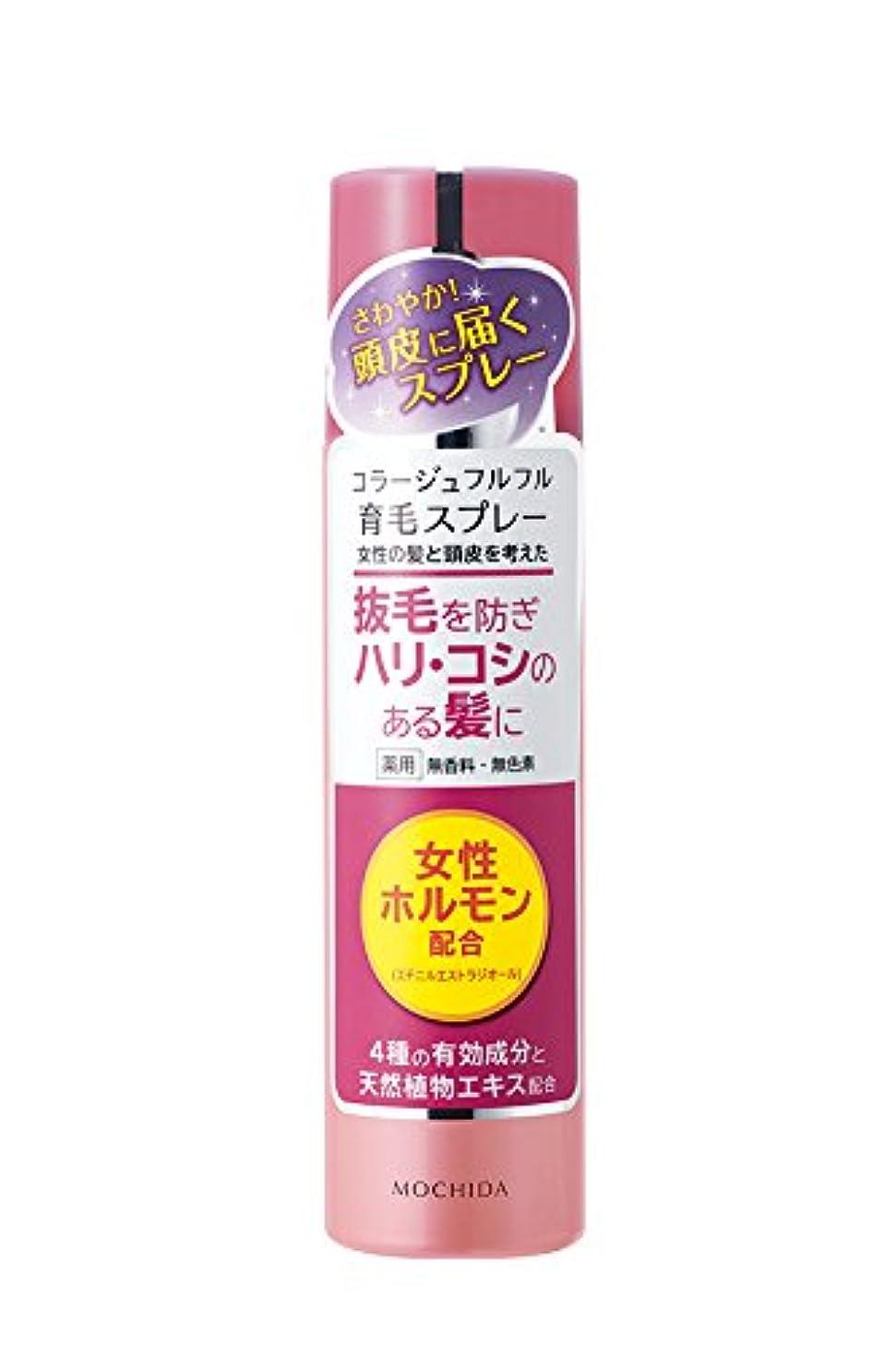 手錠順応性火炎持田ヘルスケア コラージュフルフル 育毛スプレー 150g