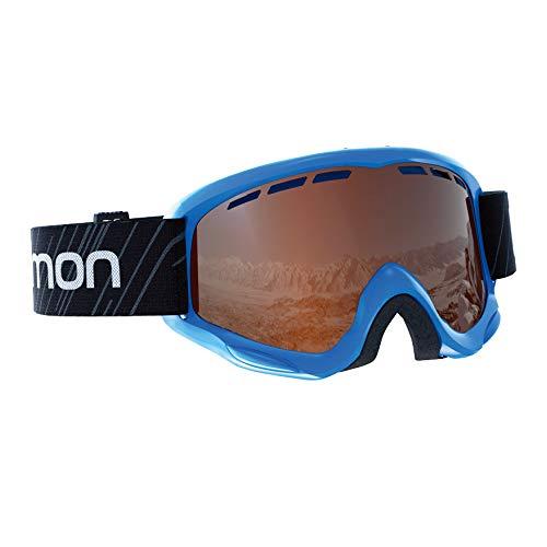 サロモン(SALOMON) スキー スノーボード ゴーグル ジュニア JUKE ACCESS Blue/T.Orange L39137200