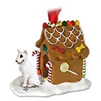 Bull Terrier Ginger Bread House Ornament by Conversation Concepts [並行輸入品]