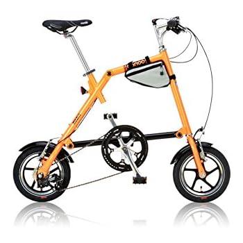 NANOO(ナノー) 折りたたみ自転車 12インチ アルミ製 シマノ7段変速 専用輸行バッグ/トライフレームバッグ付属