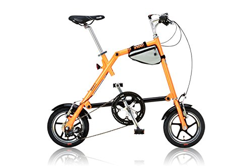 NANOO(ナノー) 折りたたみ自転車 12インチ アルミ製 シマノ7段変速