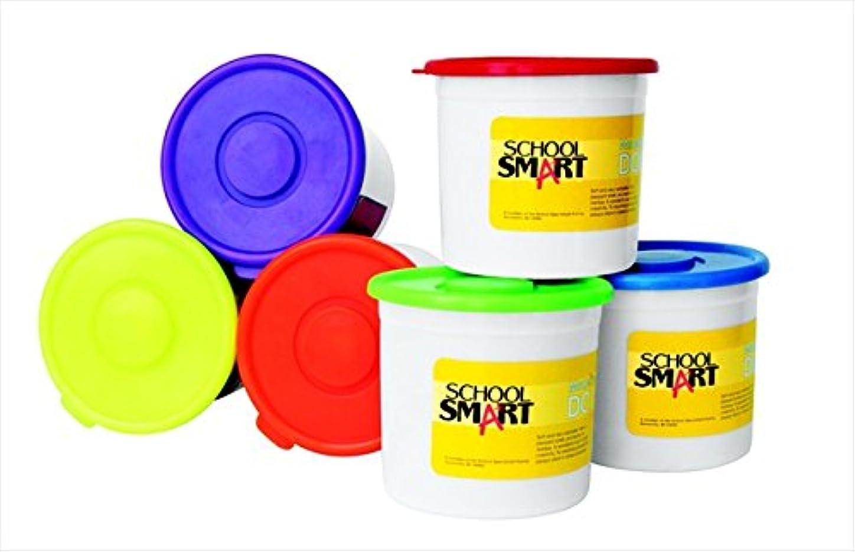 学校スマート088684非毒性Modeling Dough教室pack44 ; Assorted color44 ;パックof 6