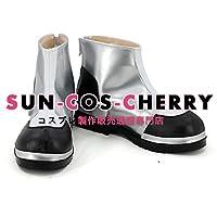 【サイズ選択可】コスプレ靴 ブーツ K-2372 Re:CREATORS 鹿屋瑠偉 かのやるい 女性24CM
