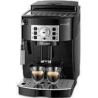 【エントリーモデル】デロンギ(DeLonghi) 全自動コーヒーメーカー マグニフィカS ミルク泡立て:手動 ブラック ECAM22112B