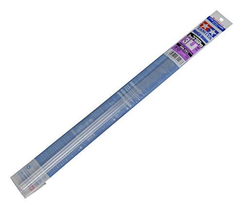 TAMIYA タミヤ 透明プラ材3mmコの字形棒(5本入)【70207】