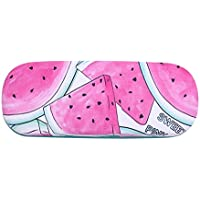 COODIO Portable Cute Cartoon Fruits Pattern Eye Glasses Shell Reading Myopia Glasses Hard Case Protector Box for Fashion Jewelry