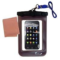 Gomadicアウトドア防水携帯ケースSuitable for the LG Optimus Solに使用Underwater–keepsデバイスClean and Dry