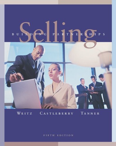 Download Selling: Building Partnerships, 5/e, with ACT! Express Software 0072866802