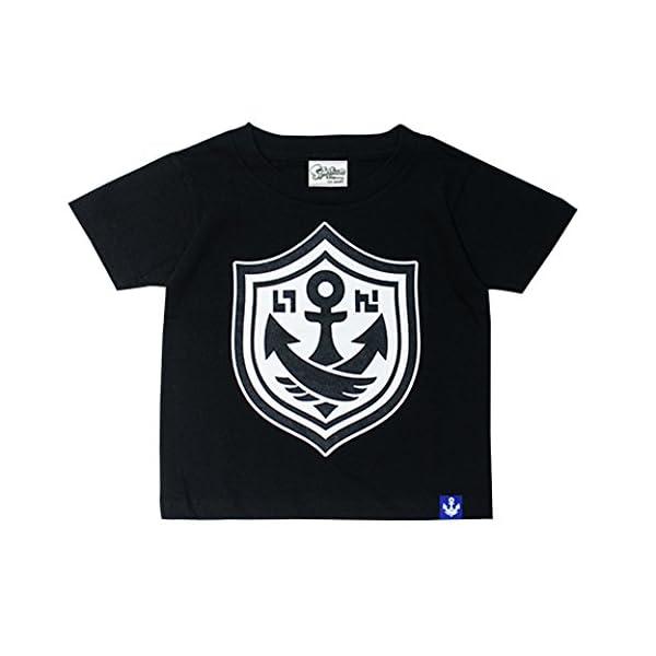 Splatoon ガチTシャツ ブラック キッズ100の商品画像