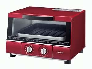 タイガー オーブントースター 「やきたて」 ワイドタイプ レッド KAE-G130-R