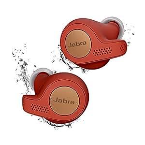 Jabra Elite Active 65t コッパーレッド 北欧デザイン Alexa対応完全ワイヤレスイヤホン BT5.0 マイク付 防塵防滴IP56 2台同時接続 2年保証 【国内正規品】 100-99010001-40-A