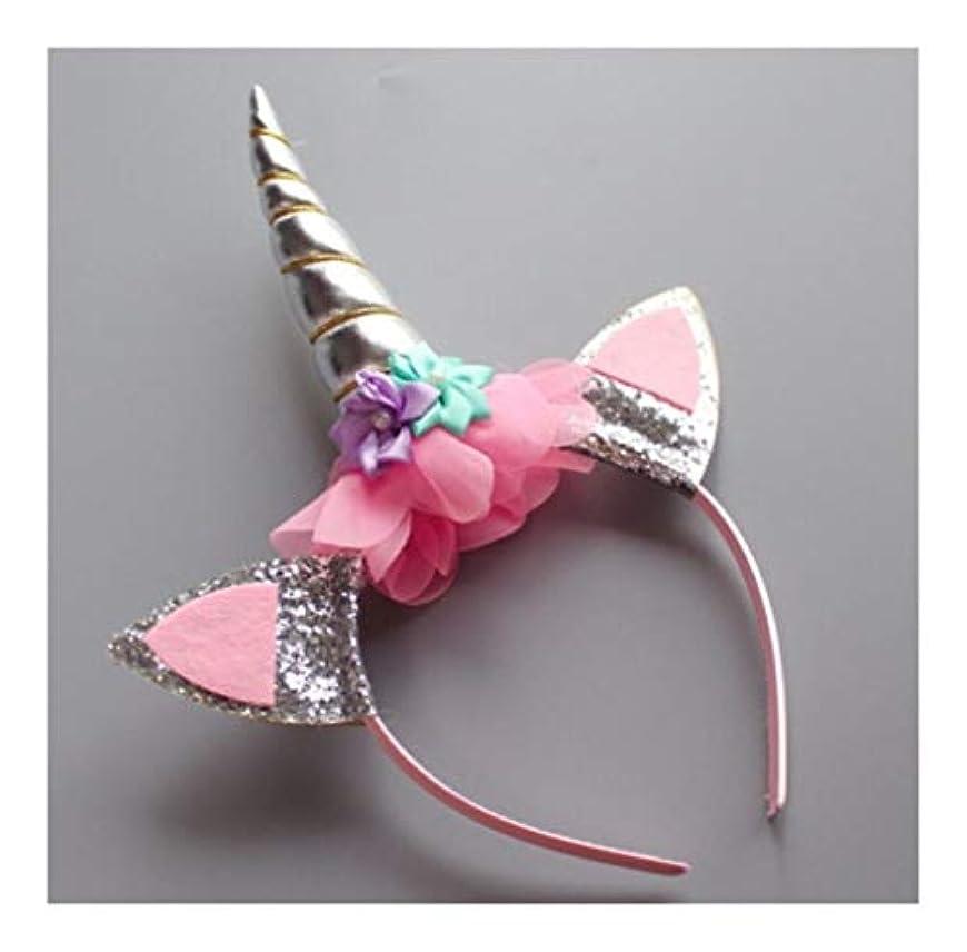 限定エスカレーター召喚するHCXD クリスマスの子供の頭飾り子供のユニコーンヘッドバンドは、ティアラヘアアクセサリーヘアピンヘッドバンドの女の子の宝石クリスマスの飾りをメッシュ クリスマスの帽子 (Color : C)