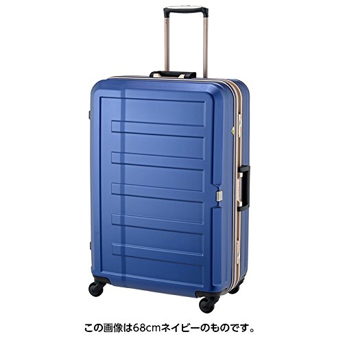レジェンドウォーカー シボ加工スーツケース【60cm】 5088-60(Legend Walker)ネイビー