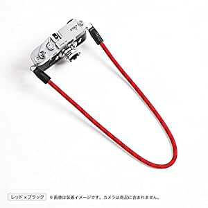 cam-in (カムイン) カメラストラップ DCS-005シリーズ (95cm, レッド × ブラック)