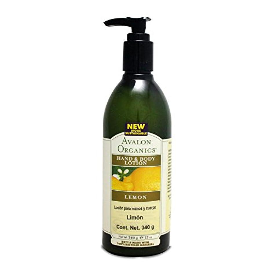 不快な司教お嬢Organics Hand and Body Lotion Lemon - 12 fl oz by Avalon