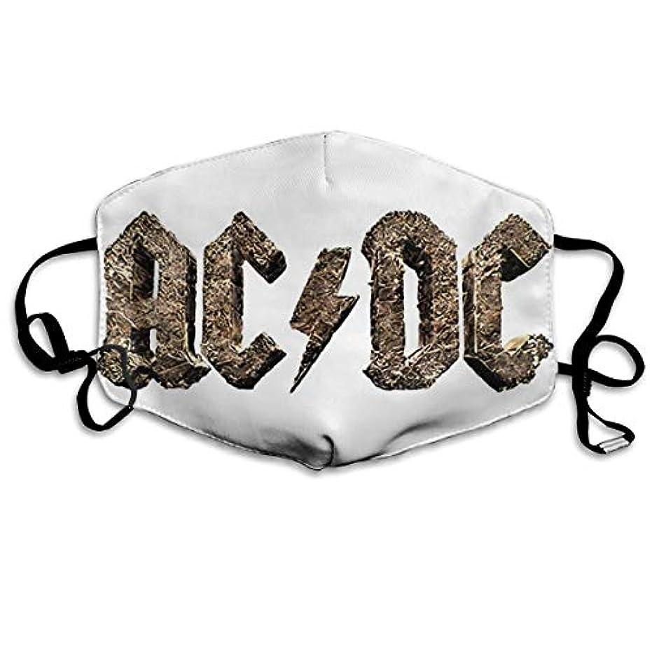 シアーイヤホンスコアマスク ACDC Rock Or Bust3 立体構造マスク ファッションスタイル マスク 花粉症防止対策マスク 繰り返し 肌荒れしない 風邪対応風邪予防 男女兼用