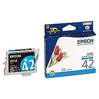 == まとめ == / エプソン/EPSON/インクカートリッジ/シアン / ICC42 / 1個 / - ×4セット -