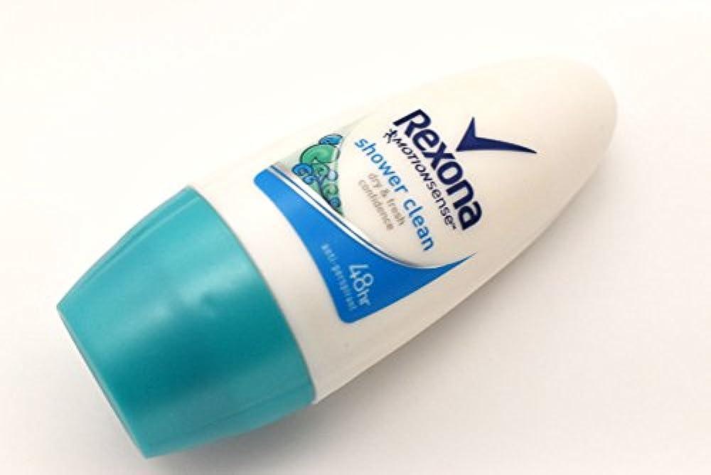 ハシー振る舞う以前はRexona レクソーナ レクソナ 制汗剤 デオドラント ロールオン 48時間持続 shower clean シャワー?クリーン 50ml 並行輸入品 Unilever ユニリーバ