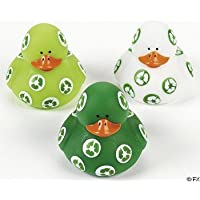One Dozen (12) Recycle Rubber Ducks [並行輸入品]