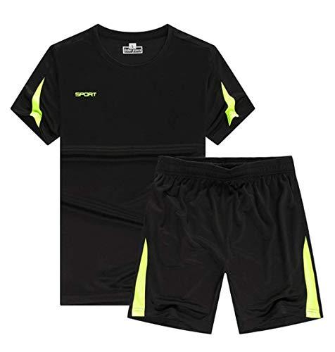 132102f4bb9ec3 [リガトゥ] スポーツ ウェア メンズ キッズ 半袖 上下 セット アクティブ 親子 Tシャツ ハーフパンツ