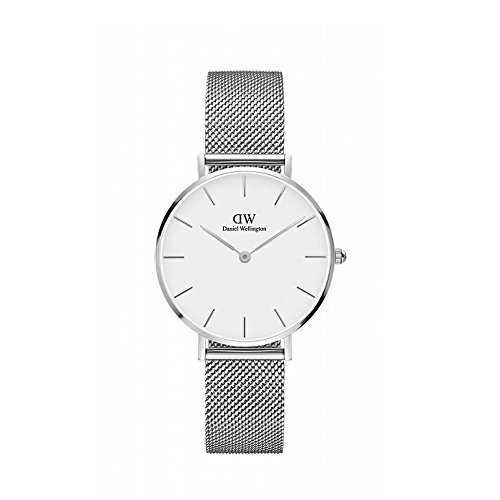 Daniel Wellington (ダニエル ウェリントン) 腕時計 CLASSIC PETITE 32mm [並行輸入品] (シルバー+ホワイト)