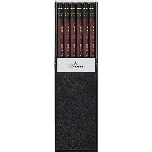 三菱鉛筆 鉛筆 ハイユニ HB 1ダース HUHB