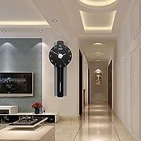 KDFHGLA 時計壁時計リビングルーム人格創造的ファッション雰囲気現代のミニマリスト長方形の壁チャートミュート時計 KDFHGLA (Size : Big)