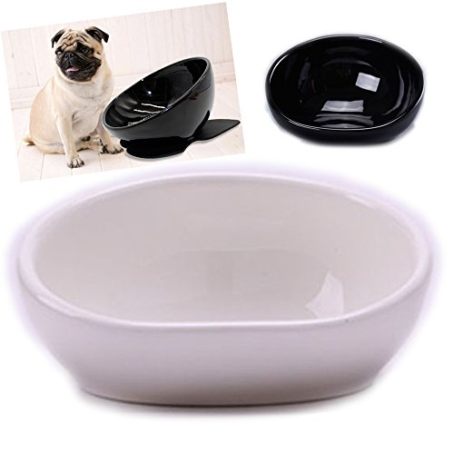 iikuru 犬 食器 陶器 犬用 食事 皿 いぬ フレンチブルドッグ 専用 フード ボウル ペット 餌入れ ペット用 水入れ x675