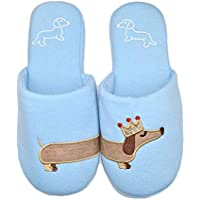 Millffy Dog Slippers hot Critter House Indoor Shoes Dachshund Slippers for Ladies Girls Women Shoes Slides
