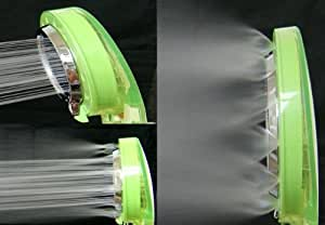 [Cebu BuBu] SPA シャワーヘッド 浄水 低水圧用 節水 マッサージ シャワヘッド ミスト噴射 切り替え3パターン (セブグリーン)