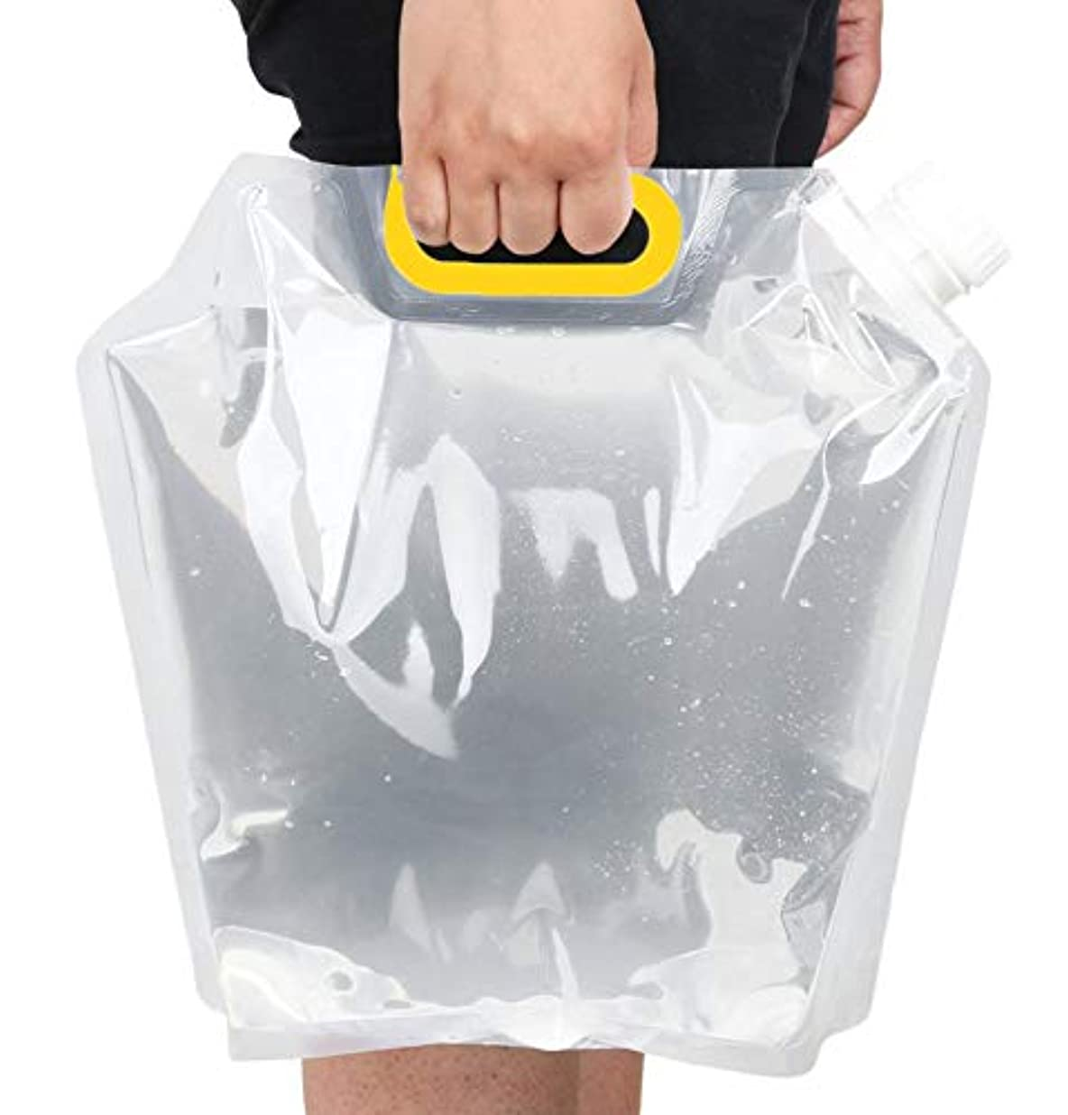 腕スロー転送F.O.G EMOCE 非常用給水バッグ 避難防災グッズ ウォータータンク 【便携】折り畳み 高品質ウォーターバッグ 旅行 登山 繰返し使用 大容量 持ち運び 非常用給水袋5L/10L用 3個セット